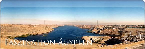 Assuan-Staudamm Ägypten