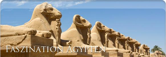 Tempelanlage Luxor Ägypten