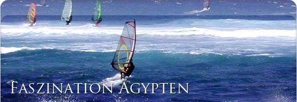 Windsurfen Ägypten